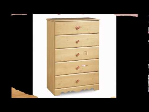 South Shore Furniture, Lily Rose Collection, 5 Drawer Chest, Romantic Pine  Reviews Sales .
