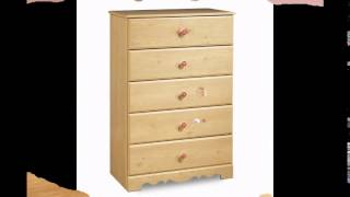 South Shore Furniture, Lily Rose Collection, 5 Drawer Chest, Romantic Pine Reviews Sales ...