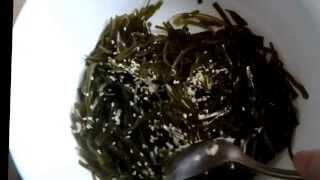 Рецепт салата из МОРСКОЙ капусты.Салат для похудения