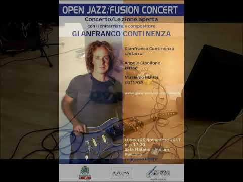 Shadows and Lights  (Genza) - Gianfranco Continenza Trio Live at Aurum - Pescara (Italy)