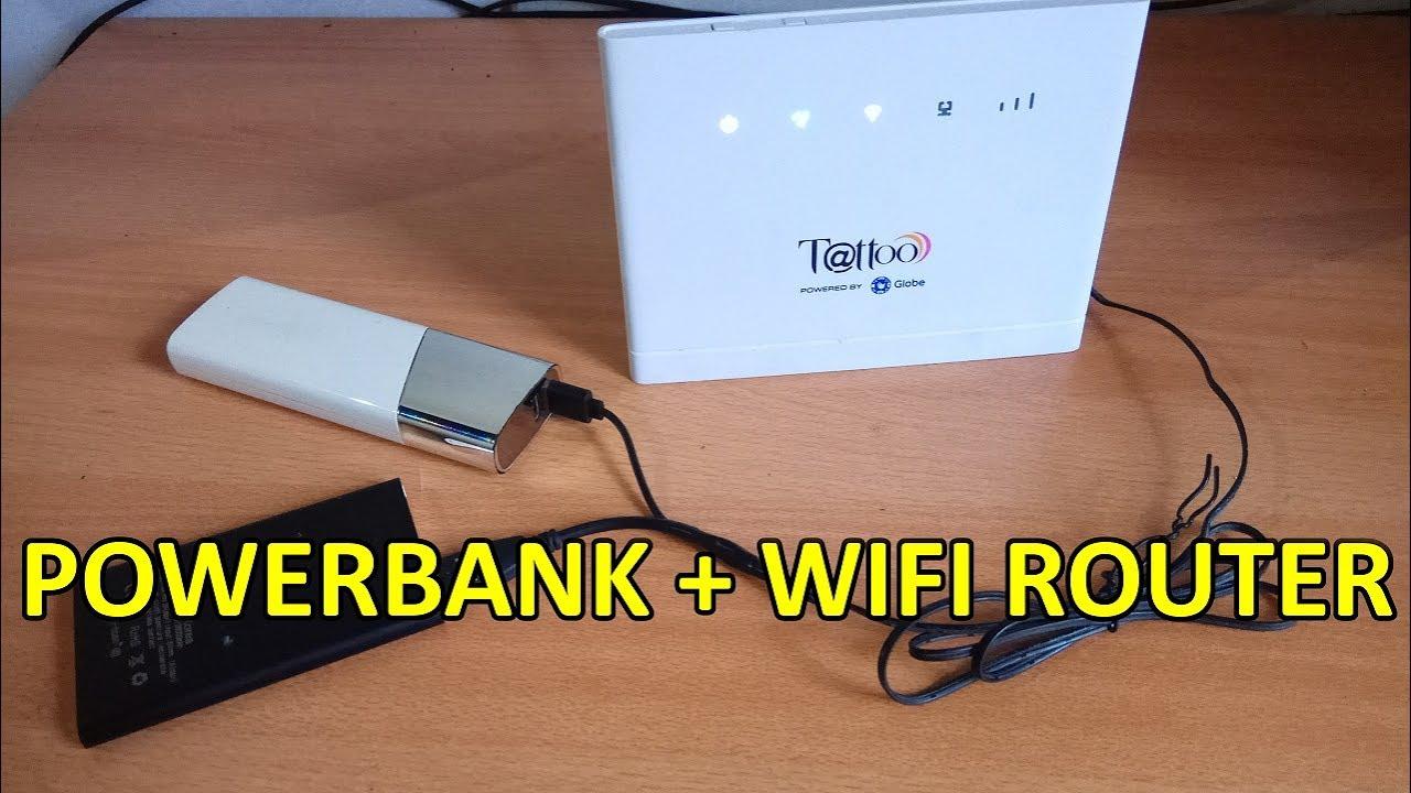 Cara Menghidupkan Wifi Router Dengan Powerbank Sebagai Baterai