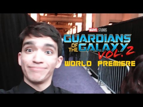 Guardians of the Galaxy Vol. 2 - RED CARPET PREMIERE!!!