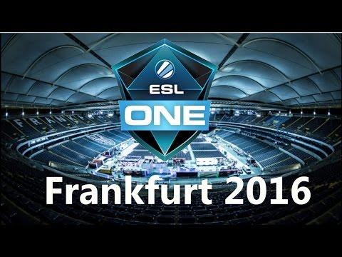OG vs coL - Rampage !!! - ESL One Frankfurt 2016 - Game 1 bo3