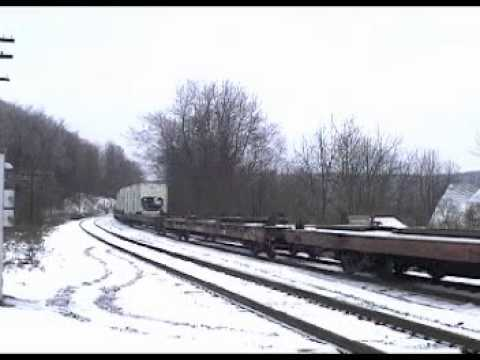 Railfanning CP and NS in NY State 1-2-2003