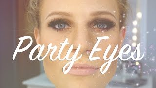 Party Eyes | Smokey Eyes  | Dramatic Fall Makeup Look Thumbnail