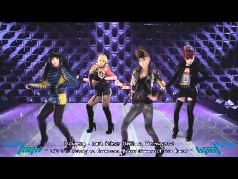 2NE1 Vs. Freemasons - Can't Believer | DJ Yigytugd