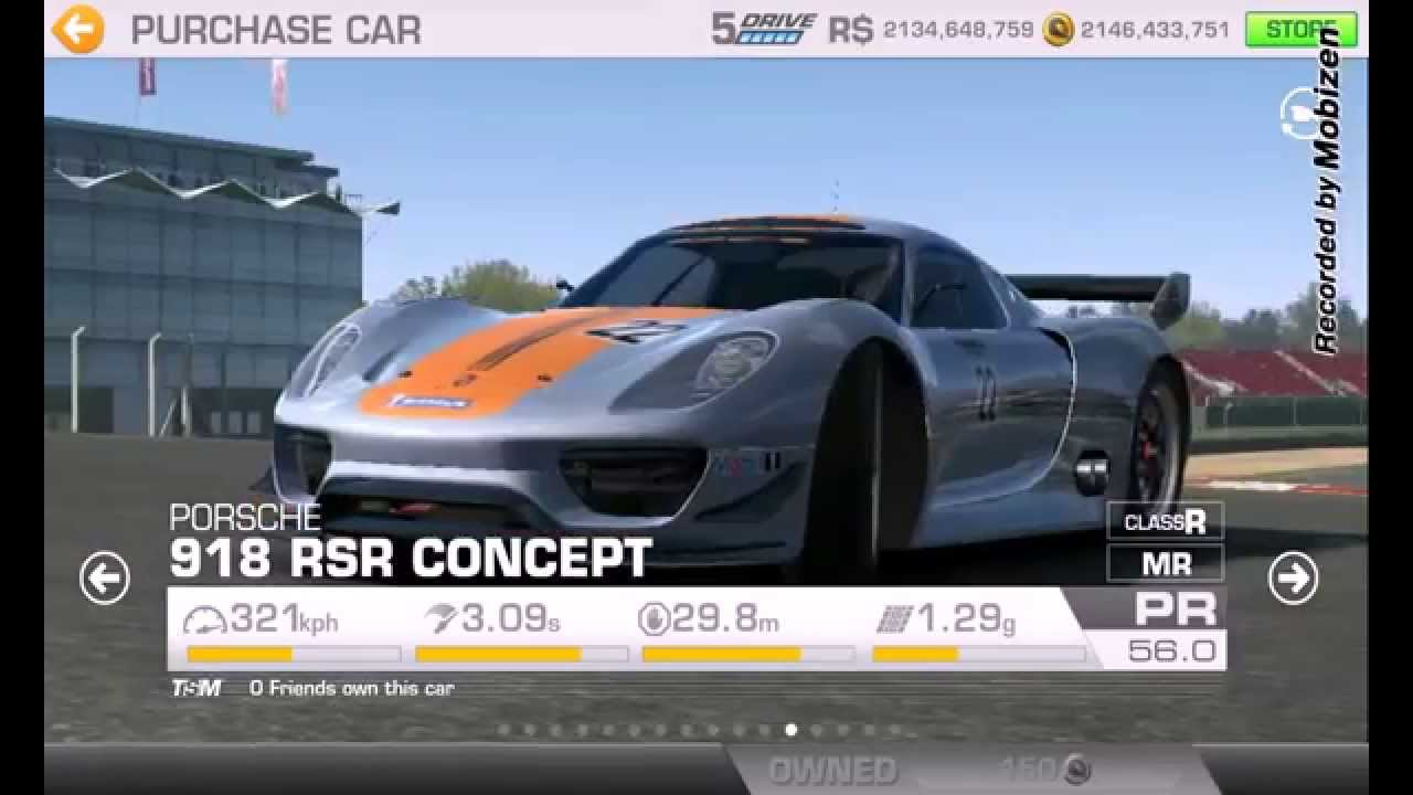 Real Racing All Cars Youtube