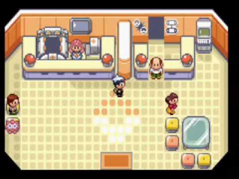 Pokemon Hack - Unused Classic Pokemon Center Music in R/S/E