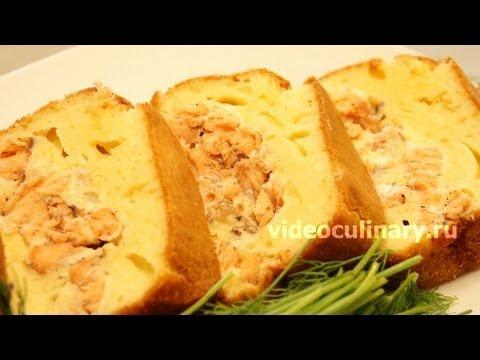 Рыбный пирог из теста на майонезе - Рецепт Бабушки Эммы