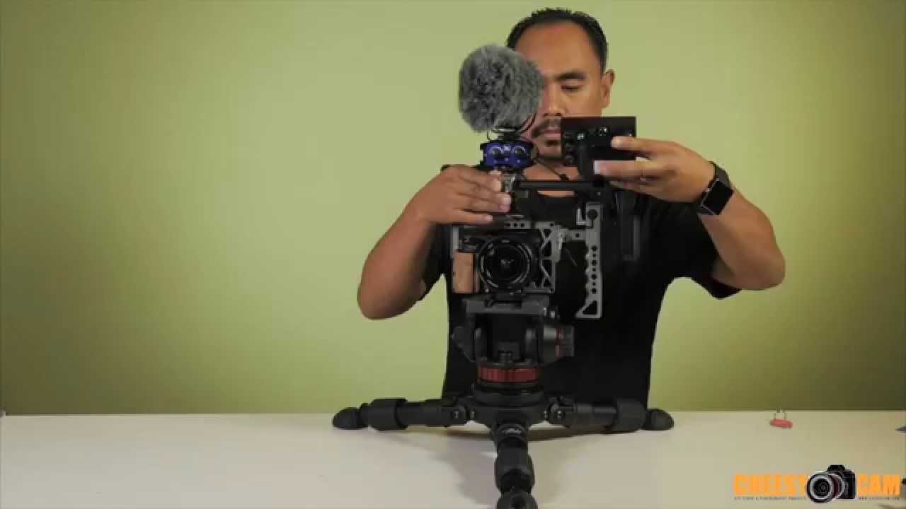 Zeus Cage for Sony A7sII and Sony A7rII Cameras | CheesyCam