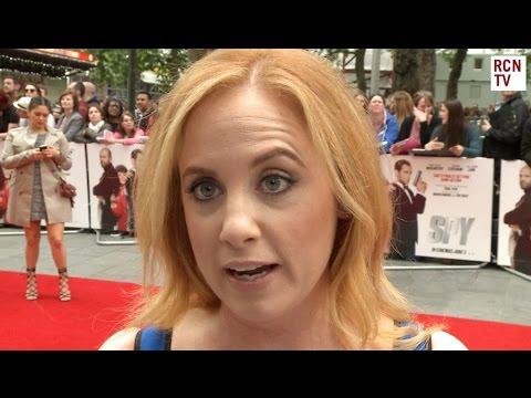Jessica Chaffin  Spy Premiere