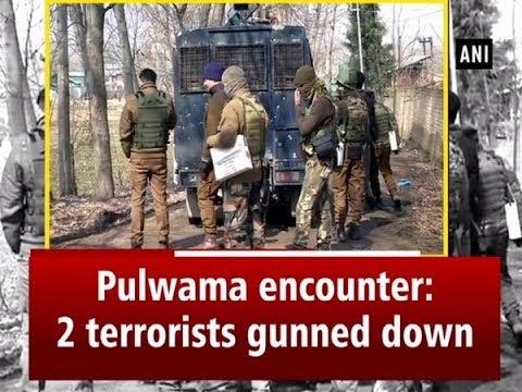 Pulwama encounter: 2 terrorists gunned down - ANI News