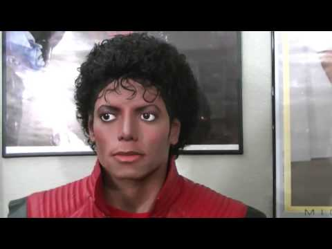 1/1 Lifesize Thriller Michael Jackson statue WORK IN PROGRESS