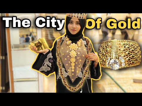 INSIDE DUBAI GOLD SOUK || Dubai City Of Gold