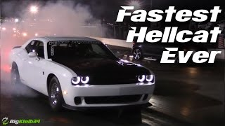 1000+ HP Nitrous Hellcat Becomes Fastest Ever