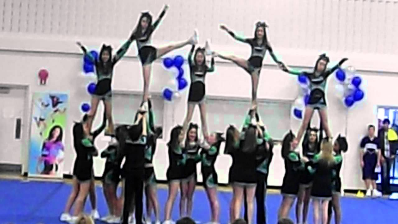 Kate Chegwin Cheer 2012 At Lillian Osborne Provincials