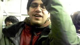 Nakul Patel Sings in a Crowded Japanese Train