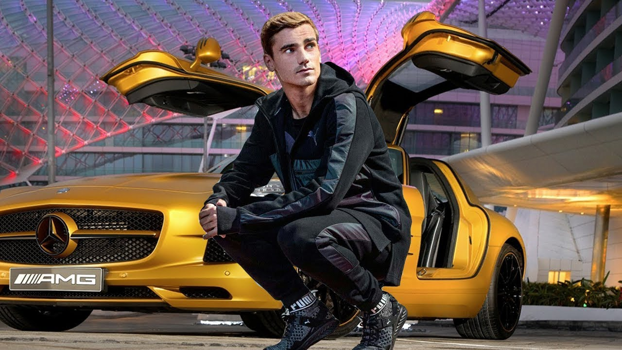 Antoine Griezmann - The Rich Life, LifeStyle, Net Worth, Cars and House  2018 - YouTube