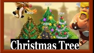 Clash Of Clans - NEW - CHRISTMAS TREE REMOVING 2016 || CoC Christmas Tree 2016