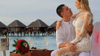 Самая романтическая свадебная церемония на Мальдивах Romantic wedding ceremony, the Maldives