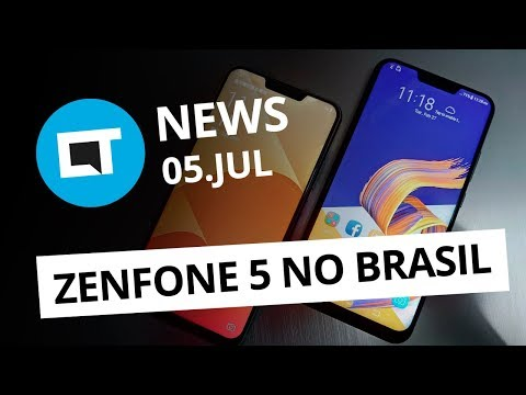2f29df53f Zenfone 5 no Brasil  Galaxy X na CES 2019  iPhones coloridos e +  CT News