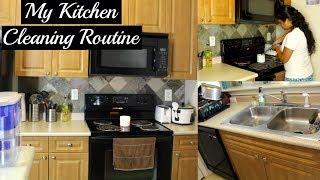 MY DAILY KITCHEN CLEANING ROUTINE | Indian/NRI Kitchen | Sweet Nika