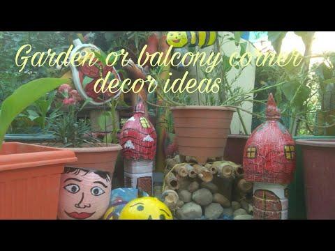#DIY#balconydecoridea Balcony and home Garden center or corner decor ideas