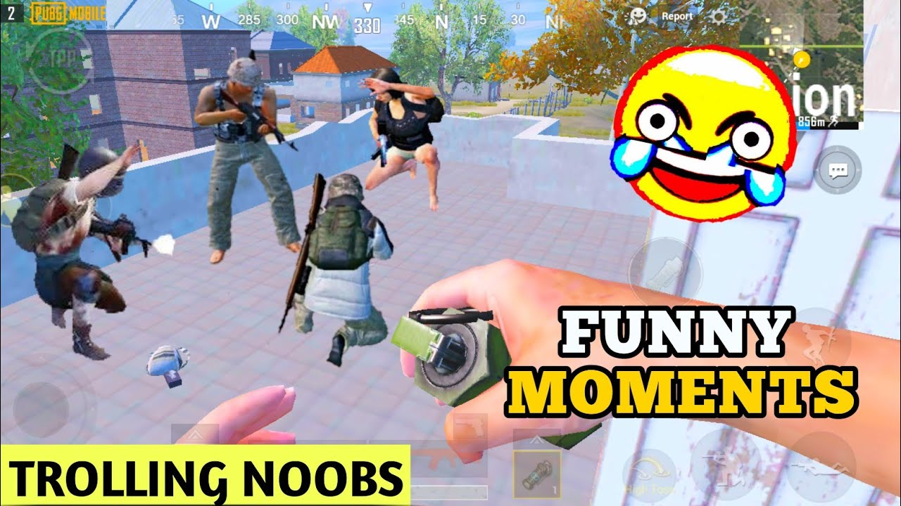 Trolling 0 IQ Noobs In Pubg Mobile🤣 || Funny & Epic Moments 😂