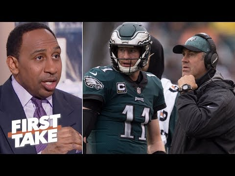 Stephen A. questions if Doug Pederson is Carson Wentz's biggest problem | First Take