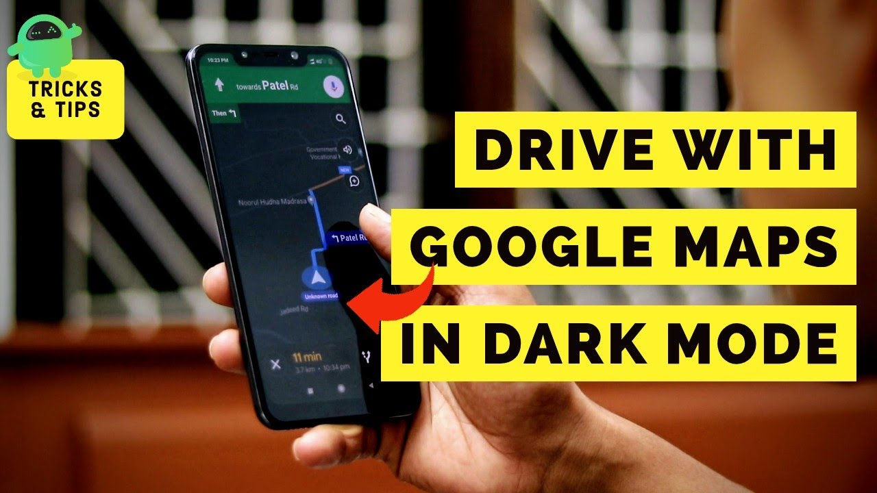 How To Enable Dark Mode For Google Maps Navigation On Android