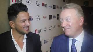 'I WOULDN'T BE KEEN TO FIGHT TYSON FURY - IM NOT MESSING WITH HIM' - PETER ANDRE TELLS FRANK WARREN