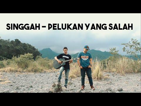 Singgah - Pelukan Yang Salah (cover By Windu & Rahmad + Lirik)