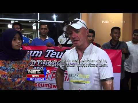 Scott Thompson, Pengayuh Becak dari Aceh Hingga Jakarta - NET24