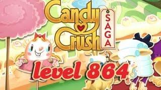 Candy Crush Saga Level 864 - ★★