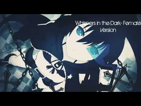 Nightcore: Whispers in The Dark- Female Version