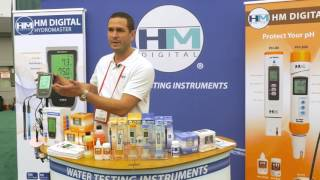 Hydromaster HM Digital PH EC TDS & Temp Monitor