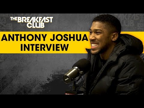 Anthony Joshua Talks Jarrell Miller, Answering To Deontay Wilder, Staying Humble + More