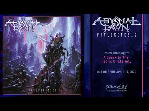 ABYSMAL DAWN, 'Phylogenesis' (Full Album Stream) 2020