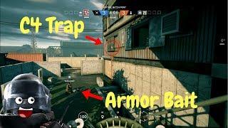 Video Rook Armor Bait #2 - Rainbow Six Siege download MP3, 3GP, MP4, WEBM, AVI, FLV Oktober 2018