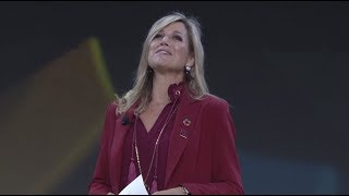 Queen Máxima of the Netherlands: Technology with a Purpose  #GOALKEEPERS17