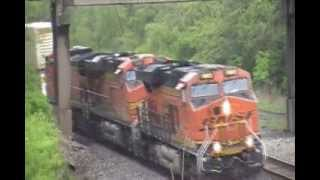 4/7/12 You Like Fast Freight Trains? Well La Plata, MO is the place to be.
