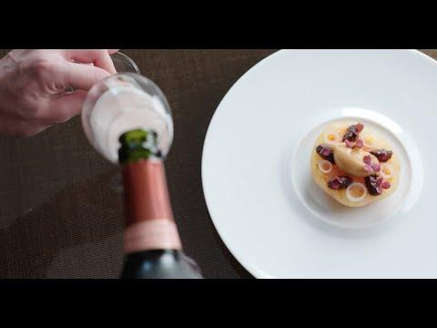 Pairing Laurent-Perrier Cuvée Rosé With The Cuisine Of Épure להורדה
