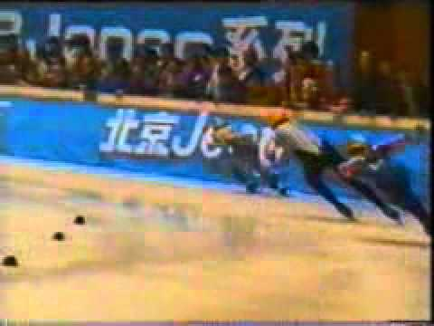 1993 New Zealand short track speed skating world champions!