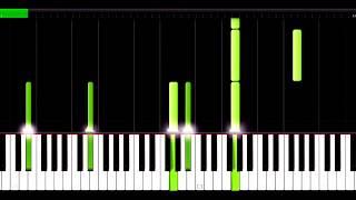 Beautiful Lie Piano - Batman v Superman - Hans Zimmer & Junkie XL