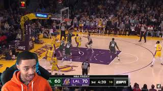 Giannis Is Officially OVERRATED! LBJ 37! FlightReacts Bucks vs Lakers - Full Game Highlights 2020!