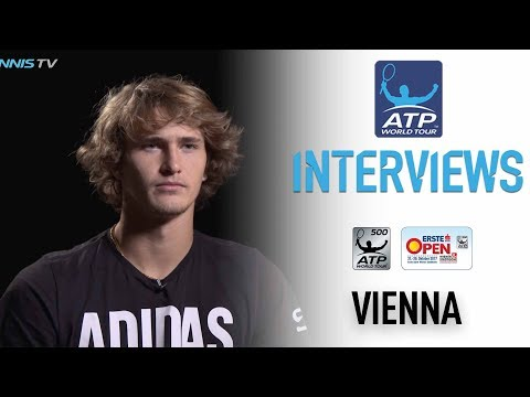 Zverev Readies For Late-Season Push Vienna 2017