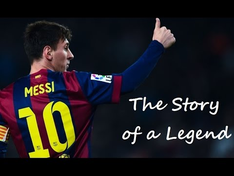Lionel Messi The Story of a Legend 1987-2016 ᴴᴰ - YouTube