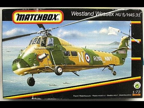 Matchbox 1/72 Westland Wessex HU 5/HAS 31 Inbox Review