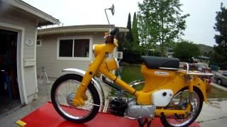 Video Tour of 1963 Honda C105T a.k.a. Trail 55
