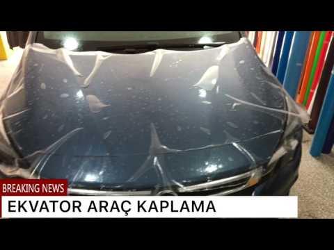 Cover Lagu Opel Astra: Kaput Boya Koruma Filmi Uygulama Ekvator Araç Kaplama STAFABAND